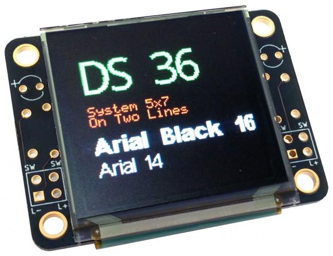 Freetronics 128x128 Pixel OLED Module CE04569 Freetronics Australia (Image 2)