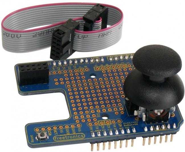 Freetronics OLED Shield LCD Adapter CE04505 Freetronics Australia (Feature image)