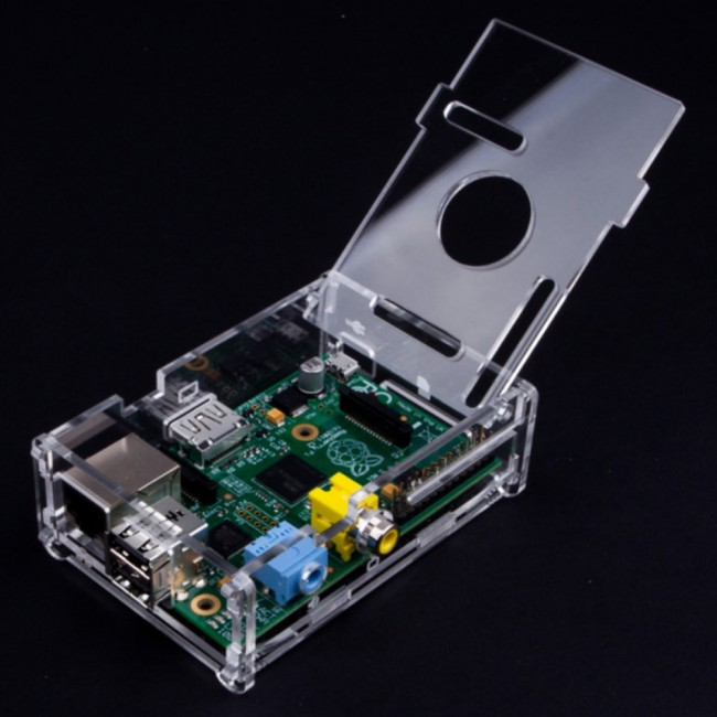 Case / Box / Enclosure for Raspberry Pi B 018-RPI-ENC1  (Feature image)
