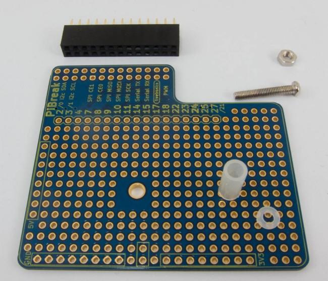 Freetronics PiBreak Raspberry Pi Prototyping Board CE04574 Freetronics Australia (Feature image)