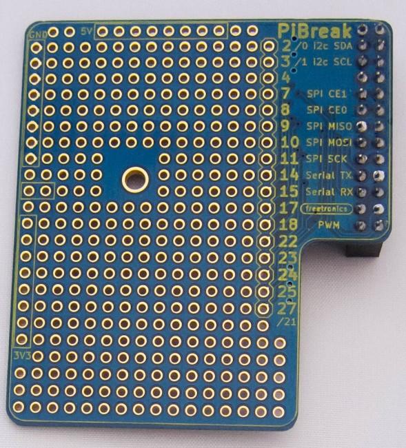 Freetronics PiBreak Raspberry Pi Prototyping Board CE04574 Freetronics Australia (Image 4)