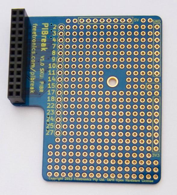 Freetronics PiBreak Raspberry Pi Prototyping Board CE04574 Freetronics Australia (Image 5)