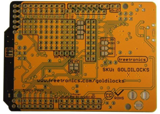Freetronics Goldilocks: Arduino Compatible with ATmega1284P MCU CE04565 Freetronics Australia (Image 3)