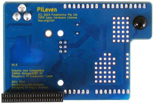 Freetronics PiLeven Arduino Compatible Expansion for Raspberry Pi CE04506 Freetronics Australia (Image 2)