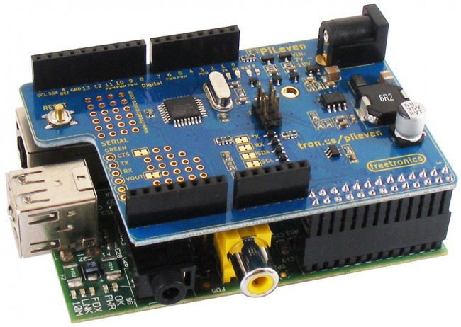 Freetronics PiLeven Arduino Compatible Expansion for Raspberry Pi CE04506 Freetronics Australia (Image 4)
