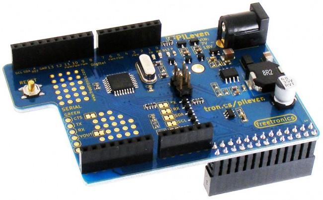Freetronics PiLeven Arduino Compatible Expansion for Raspberry Pi CE04506 Freetronics Australia (Image 3)
