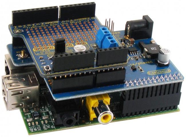 Freetronics PiLeven Arduino Compatible Expansion for Raspberry Pi CE04506 Freetronics Australia (Image 5)