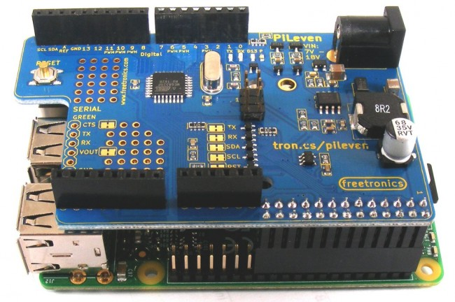 Freetronics PiLeven Arduino Compatible Expansion for Raspberry Pi CE04506 Freetronics Australia (Image 7)