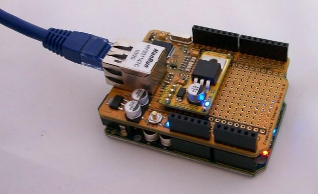 Freetronics Power-over-Ethernet Regulator 14-24V CE04500 Freetronics Australia (Image 3)