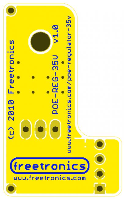 Freetronics Power-over-Ethernet Regulator 14-24V CE04500 Freetronics Australia (Image 5)