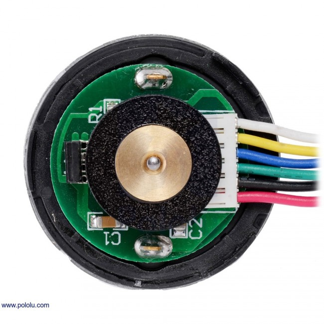 100:1 Metal Gearmotor 37Dx73L mm with 64 CPR Encoder POLOLU-2826 Pololu in Australia - Express Delivery Australia Wide (Image 6)