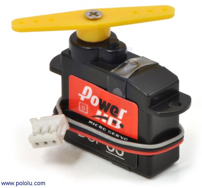 Power HD High-Speed Digital Sub-Micro Servo DSP33 POLOLU-2141 Pololu Australia - Express Delivery Australia Wide (Feature image)