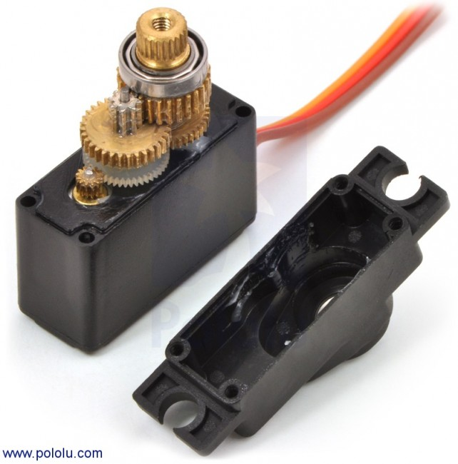 Power HD High-Speed Mini Servo HD-1705MG POLOLU-2143 Pololu Australia - Express Delivery Australia Wide (Image 3)