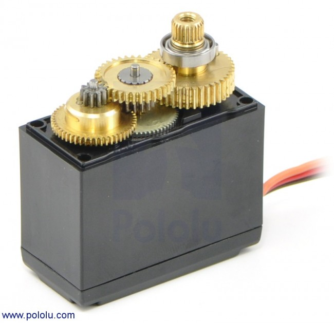 Power HD High-Torque Digital Servo HD-9150MG POLOLU-1048 Pololu Australia - Express Delivery Australia Wide (Image 2)