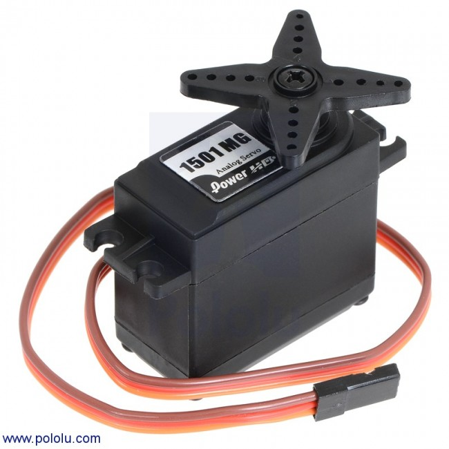 Power HD High-Torque Servo 1501MG POLOLU-1057 Pololu Australia - Express Delivery Australia Wide (Feature image)