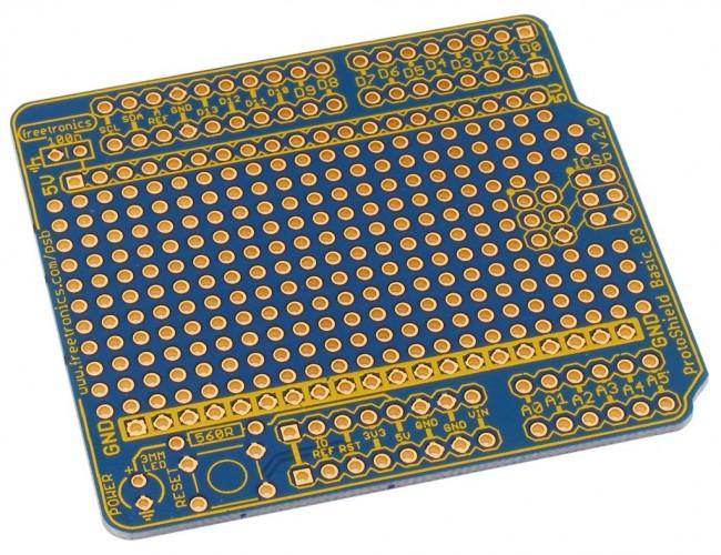 Freetronics ProtoShield Basic for Arduino CE04494 Freetronics Australia (Feature image)
