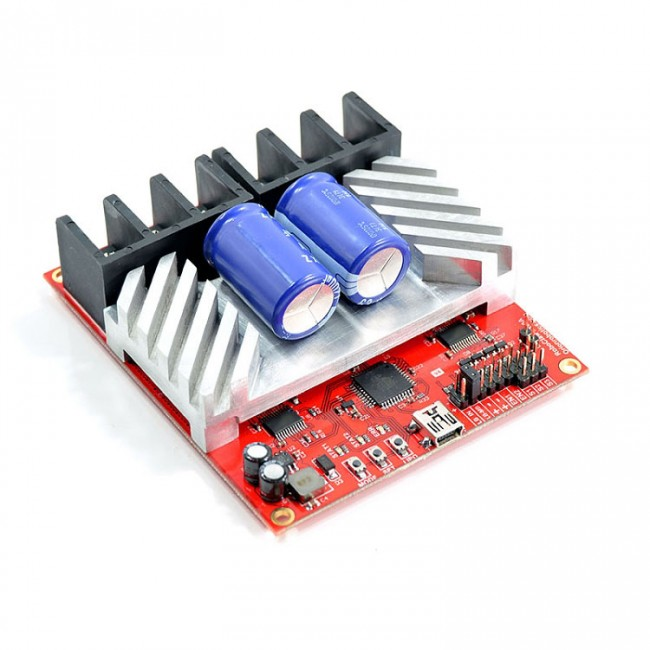 RoboClaw 2x60A Motor Controller with USB (V4) POLOLU-1499 Pololu Australia - Express Delivery Australia Wide (Feature image)