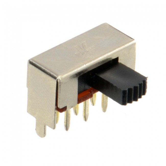 Horizontal Slide Switch DPDT 003-SLIDESWITCH01  (Feature image)