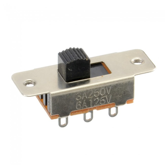 Vertical Vertical Slide Switch DPDT 003-SLIDESWITCH03  (Image 1)