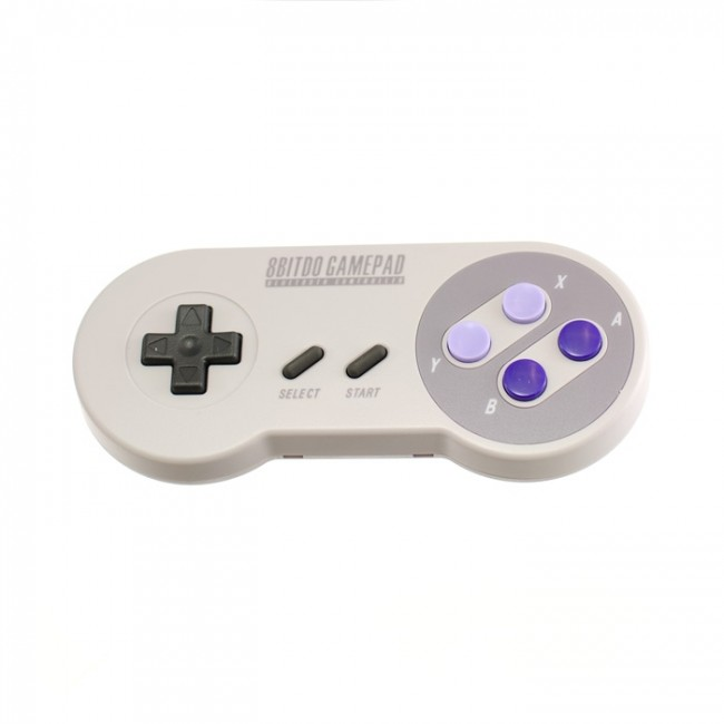 8Bitdo SNES Style Bluetooth GamePad (US Button Colours) CE04465-2 8Bitdo Australia (Feature image)