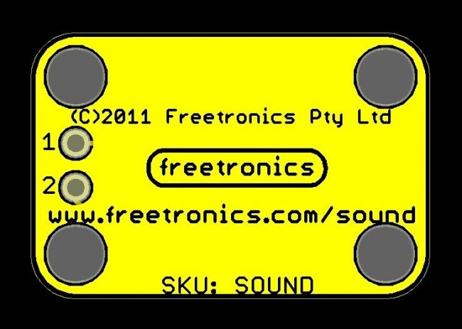Freetronics Sound and Buzzer Module CE04532 Freetronics Australia (Image 3)
