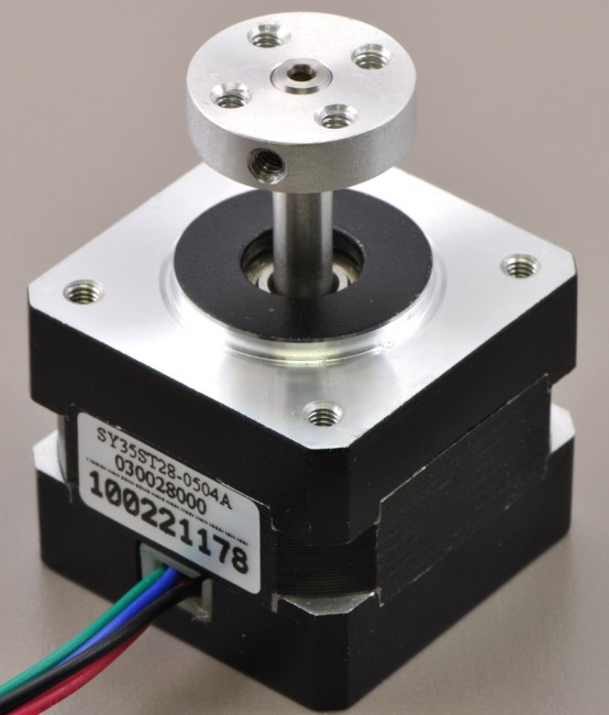 Stepper Motor: Unipolar/Bipolar, 200 Steps/Rev, 42×48mm, 4V, 1.2 A/Phase POLOLU-1200 Pololu in Australia - Express Delivery Australia Wide (Image 5)