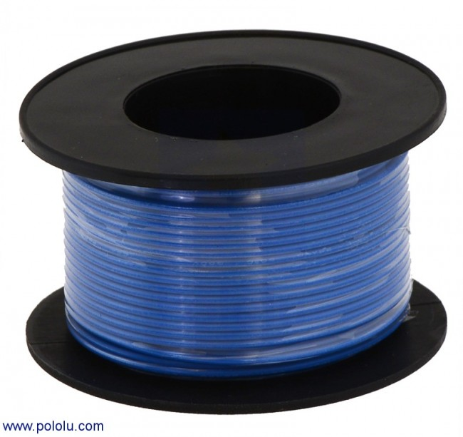 Stranded Wire: Blue, 20 AWG, 40 Feet POLOLU-2656 Pololu Australia - Express Delivery Australia Wide (Feature image)
