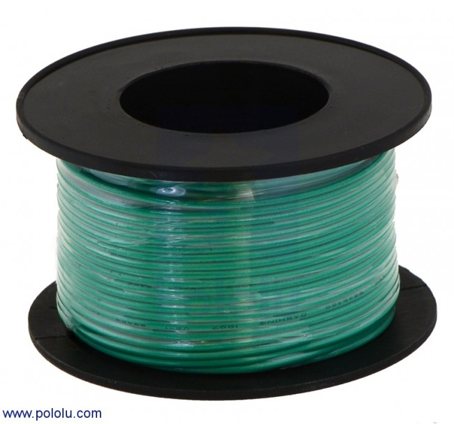 Stranded wire green 20 awg 40 feet australia stranded wire green 20 awg 40 feet pololu 2655 pololu australia greentooth Image collections
