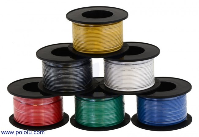 Stranded Wire: Red, 26 AWG, 70 Feet POLOLU-2622 Pololu Australia - Express Delivery Australia Wide (Image 2)