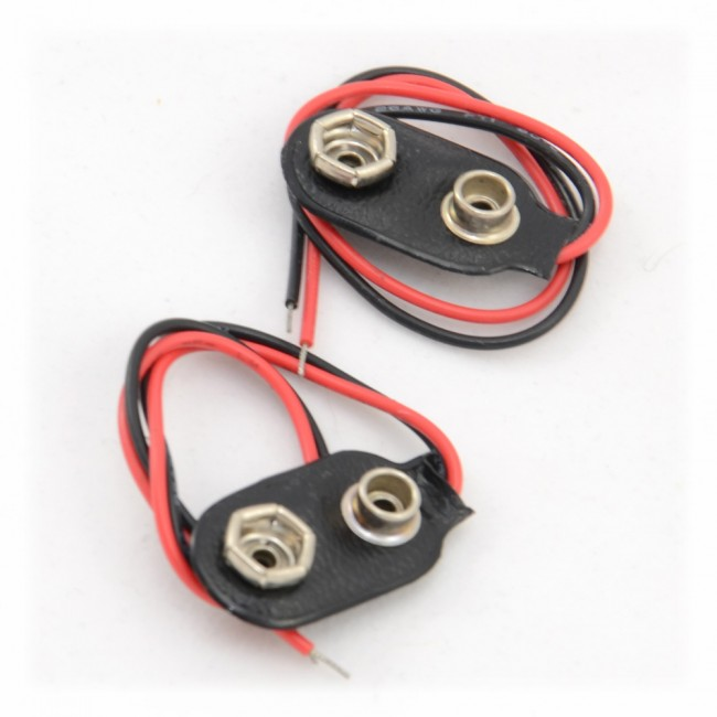 9V Battery Clip 003-9VBATTCLIP  (Feature image)