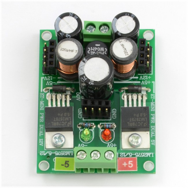 Dual 5V Power Supply Mini Board 003-MINIPOWERDUAL5V  (Feature image)