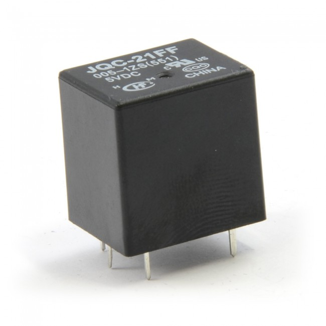 SPDT PC Mount Relay 5V 10A 003-JQC-21FF-05  (Feature image)