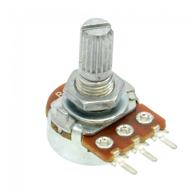 1K 1/2W Logarithmic Taper Potentiometer 003-POT1KA  (Image 1)