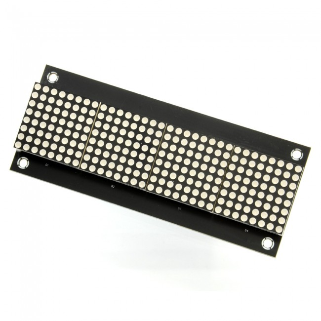 32X8 3208 Red LED Dot Matrix Board (DE-DP13112) 017-DE-DP13112 Sure Electronics Australia (Image 2)