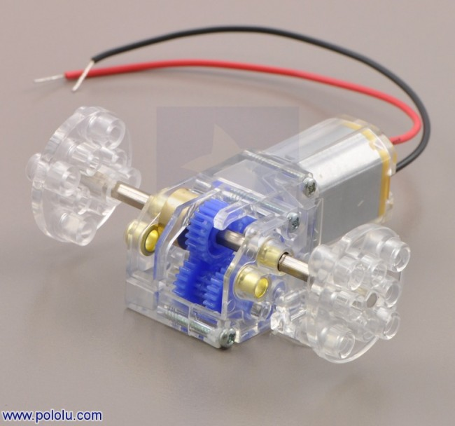 Tamiya 70188 Mini Motor Gearbox (8-Speed) Kit POLOLU-1682 Pololu Australia - Express Delivery Australia Wide (Feature image)