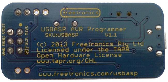 Freetronics USBasp ICSP Programmer for AVR / Arduino CE04564 Freetronics Australia (Image 4)