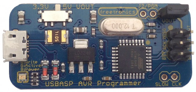 Freetronics USBasp ICSP Programmer for AVR / Arduino CE04564 Freetronics Australia (Image 3)