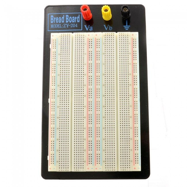 Solderless Breadboard - 1660 Tie Point (ZY-204) 019-ZY-204  (Feature image)