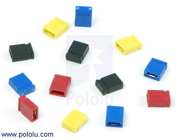 "0.100"" (2.54 mm) Shorting Block: Blue, Top Closed POLOLU-968 Pololu Australia - Express Delivery Australia Wide (Image 3)"