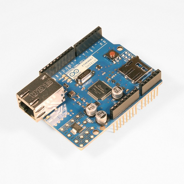 Arduino Ethernet Shield Rev3 WITHOUT PoE Module A000072 Arduino Australia (Feature image)