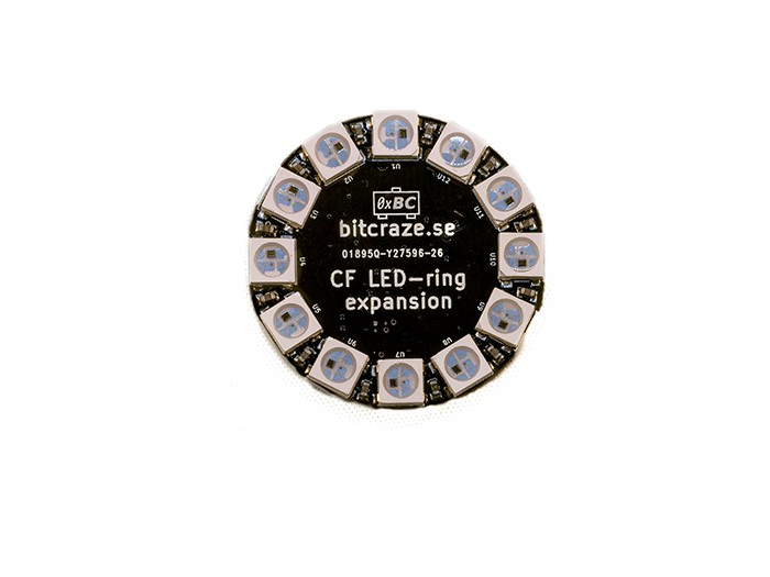Crazyflie 2.0 - LED-ring Expansion Board (Seeed Studio)  SS114990114 Seeed Studio Australia (Feature image)