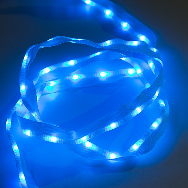Sewable LED Ribbon - 1m, 50 LEDs (Blue) COM-14138 Sparkfun Australia - Express Delivery Australia Wide (Feature image)