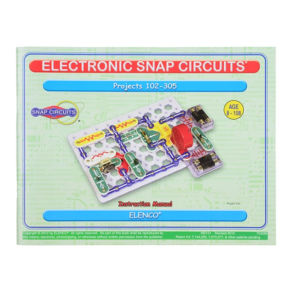 Snap Circuits - 300 Experiments KIT-14316 Sparkfun Australia - Express Delivery Australia Wide (Image 5)
