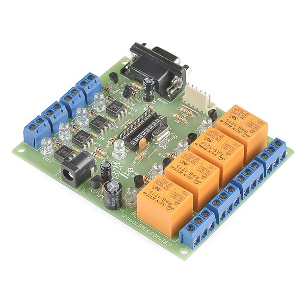 18 Pin PIC Development Board with Relays Australia