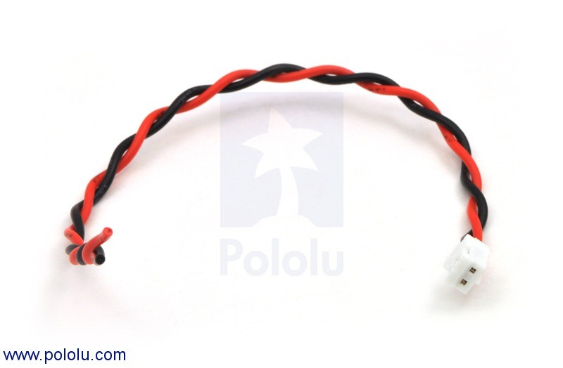 2-Pin Female JST PH-Style Cable (14cm) POLOLU-1116 Pololu Australia - Express Delivery Australia Wide (Feature image)