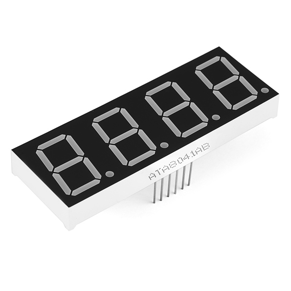 7-Segment Display - 20mm (Blue) COM-11408 Sparkfun Australia - Express Delivery Australia Wide (Feature image)