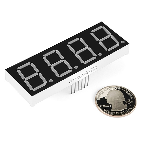 7-Segment Display - 20mm (Green) COM-11407 Sparkfun Australia - Express Delivery Australia Wide (Image 2)