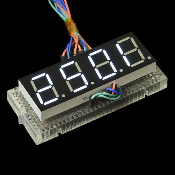 7-Segment Display - 20mm (White) COM-11409 Sparkfun Australia - Express Delivery Australia Wide (Image 4)