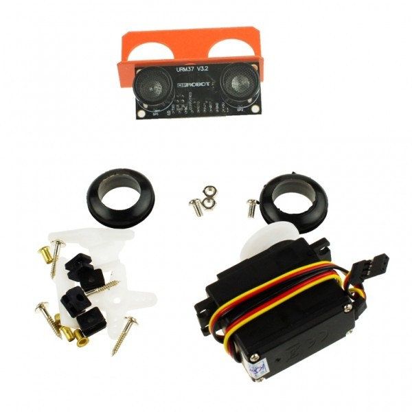 Ultrasonic Scanner kit(120°) KIT0020 DFRobot Australia - Express Post Australia Wide (Image 2)