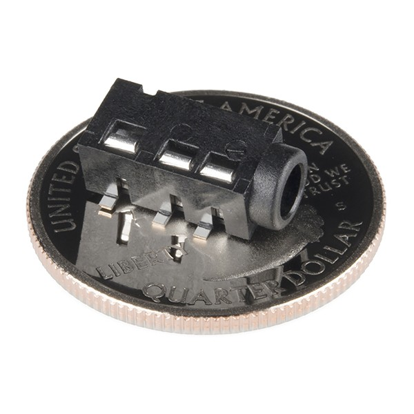 Audio Jack - 3.5mm TRRS (SMD) PRT-12639 Sparkfun Australia - Express Delivery Australia Wide (Image 2)